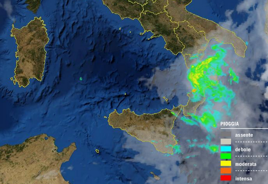immagine radar